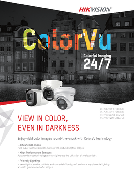 Hikvision Europe Colorvu Camera